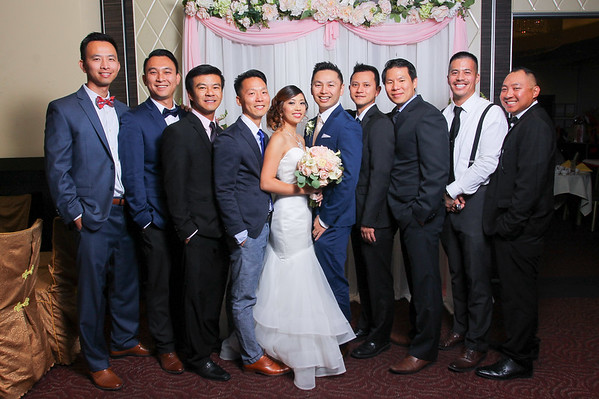 Luan & Judy's Wedding | Thank You Card Photos