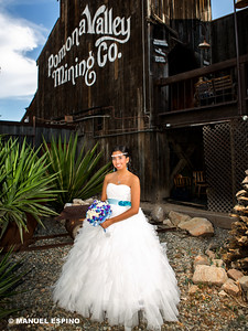Quinceanera Photography at Pomona Valley Mining Co