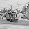 Los Angeles Railway 518 on the 10 Line turning from Edgeware Rd onto Temple St.<br /> <br /> Photographer Unkown<br /> Raymond E Younghans Collection