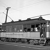 Los Angeles Railway 361 on the J Line at Jefferson Ave and the 10th Ave Loop circa 1939.<br /> <br /> Photographer Frank J Bradford