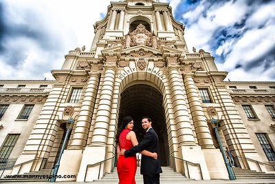 Pasadena City Hall Engagement Session