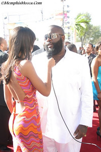 Rick Ross being interviewed