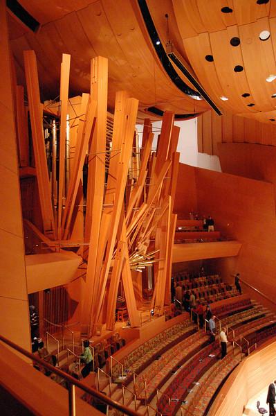 Inside Disney Hall