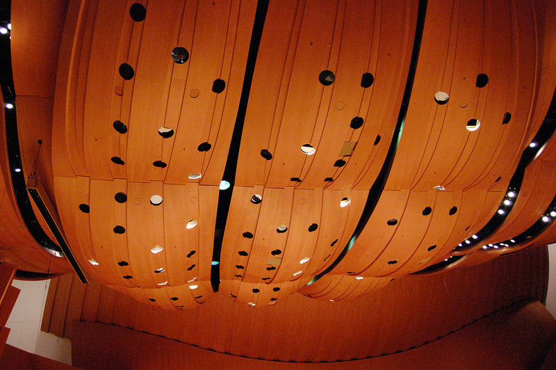 inside Disney Hall