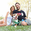 Anne, Wil & Marlowe Wheaton ~ Wiggle Waggle Walk for the Pasadena Humane Society
