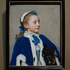Maria Frederike van Reede-Athlone at Seven<br /> <br /> Jean-Étienne Liotard <br /> Swiss, 1755 - 1756 <br /> Pastel on vellum <br /> 22 1/2 x 18 1/2 in.<br /> <br /> Changing attitudes towards children and the emergence of a large middle class in eighteenth-century Europe increased the demand for portraits of children such as this one. Maria Frederike, the seven-year-old daughter of an aristocratic Dutch family, looks off to the side in a three-quarter view. Lost in thought, she is composed yet somewhat shy in comparison to her dog, who stares out with unabashed curiosity. With startling naturalism, Jean-Étienne Liotard captured her youth and beauty, setting off her eyebrows, lashes, and lustrous hair against her soft, fresh complexion. <br /> <br /> Liotard developed remarkable technical skills in the difficult medium of pastels. Brilliantly describing surfaces and defining volume through subtle gradations of color, he depicted forms, textures, and the play of light with great immediacy. He favored using pastels, especially for portraits of children, because they could be manipulated with greater speed and ease, had no odor, and allowed for frequent interruptions.