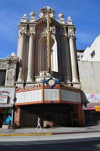 Los Angeles Theatre. Broadway, Los Angeles November 30, 2013.