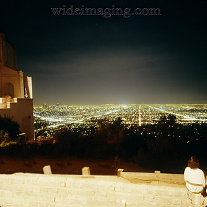 View from Griffith Observatory October 3, 1987.