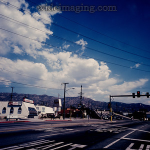 Mick's Burgers, California Street and the 5 Freeway, October 3, 1987.