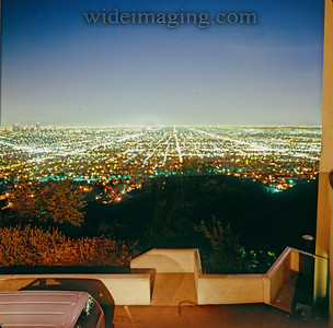 View from Griffith Observatory, October 3, 1987.