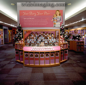 The phenomenon of the American Girl Doll, Store at the Grove Mall, November 12, 2007.