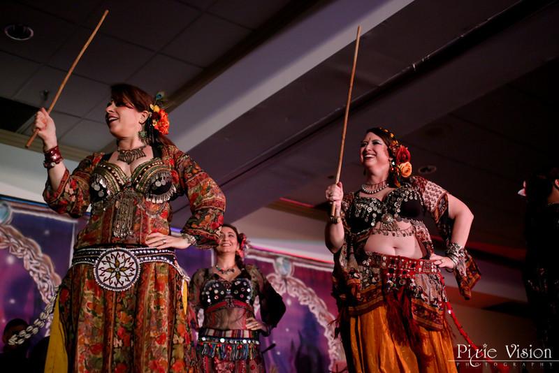 Banat Almeh, Apprentice Dancers to the Awalim Dance Co www.tribalbellydance.com