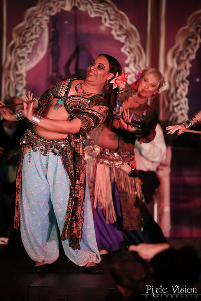Banat Almeh, Apprentice Dancers to the Awalim Dance Co www.tribalbellydance.com