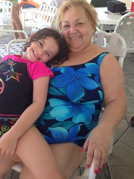 Mom and Hayden July 2014