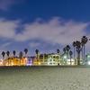 Venice Beach at Night