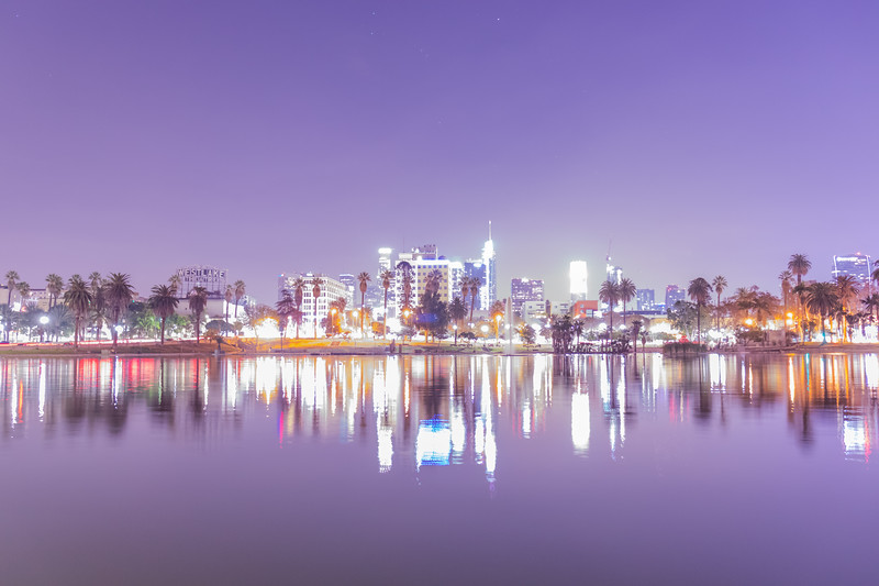 MacArthur Park at night