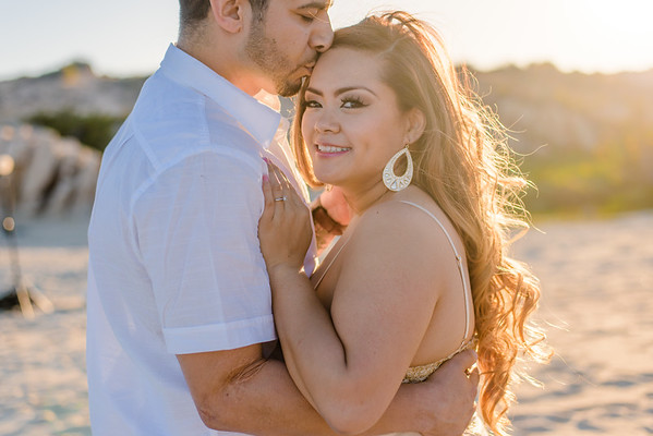 Los Cabos engagement. S & M