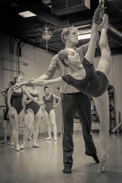 Los Gatos Ballet  2.12.15: Auditions for Cinderella 2015