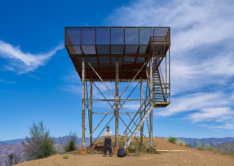 Nordhoff fire tower, Nordhoff Peak, June 15, 2018.
