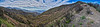 Gridley Canyon panorama from Gridley Trail - Nordhoff Ridge trail junction, June 15, 2018