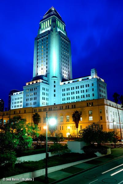 City Hall, Los Angeles, December 24, 2014.