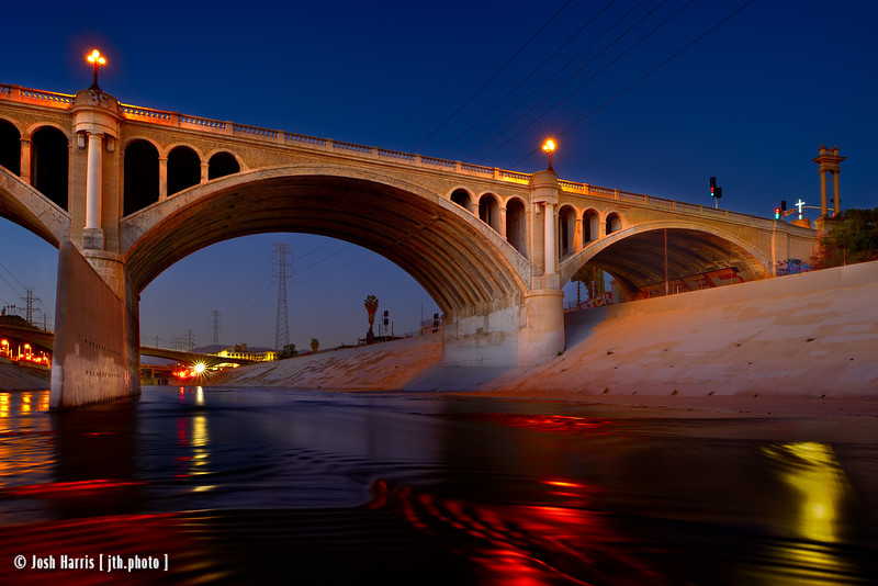 L.A. River at Broadway Boulevard, February 2016.