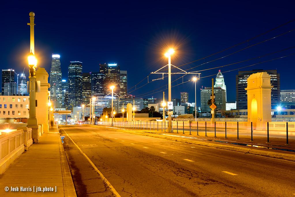 1st Street Bridge, Los Angeles, February 2016.