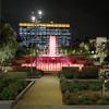 Los Angeles, Grand Park at night
