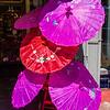 Silk Parasols; Chinatown