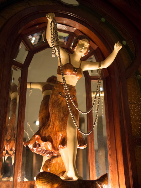 Nethercutt Museum: figure from German Orchestrion
