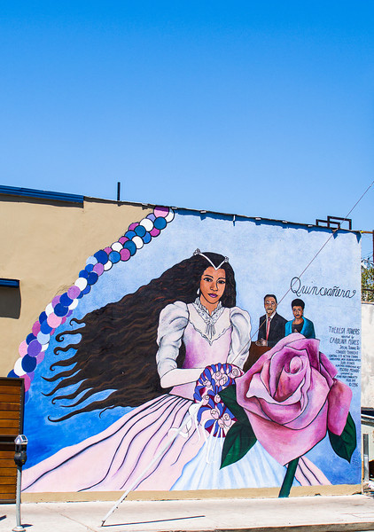 Echo Park: Wall Art Celebrating  A Quinceañera