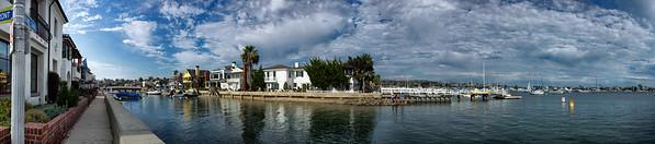 The Grand Canal, Balboa Island, Newport Beach, California