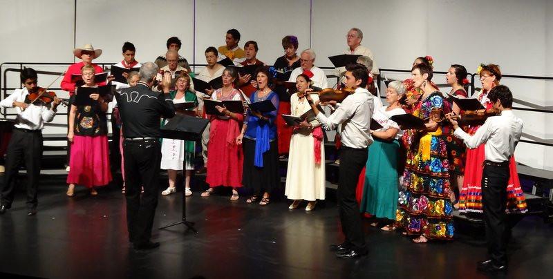 our concert Finale - Cielito Lindo