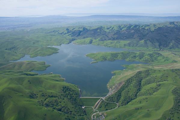 Los Vaqueros Reservoir 3-17-2010