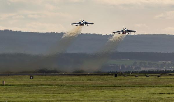 Tornado departure