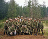 """This is a picture of me with about half of my platoon - my """"node center""""."""