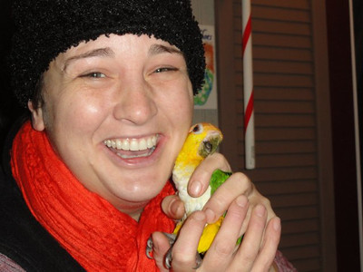 Caquie Parrot Escaped, Captured Rescued & Reunited Rescue