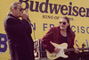 SAN FRANCISCO, CA-SEPTEMBER 24: Charlie Musselwhite and Robben Ford perform at the San Francisco Blues Festival on September 24, 1994. (Photo by Clayton Call/Redferns)