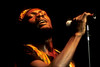 SAN FRANCISCO, CA-JULY 24: Jimmy Cliff performs at the Warfield Theater in San Francisco on July 24, 1990. (Photo by  Clayton Call/Redferns)
