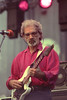 BERKELEY, CA-AUGUST 28: J.J. Cale performs at the Greek Theater in Berkeley, CA on August 28, 1993. (Photo by Clayton Call/Redferns)