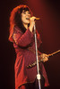 SAN FRANCISCO, CA-DECEMBER 12: Ann Wilson performs with Heart at the Cow Palace in San Francisco on December 12, 1978. (Photo by Clayton Call/Redferns)