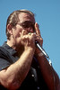 SAN FRANCISCO, CA-SEPTEMBER 15: Charlie Musselwhite performs at the San Francisco Blues Festival on September 15, 1990. (Photo by Clayton Call/Redferns)