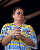 NEW ORLEANS, LA: MAY 2: Delbert McClinton performs at the New Orleans Jazz & Heritage Festival on May 2, 1997. (Photo by Clayton Call/Redferns)