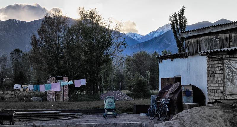 End of Day, Baizakh, Kyrgyzstan