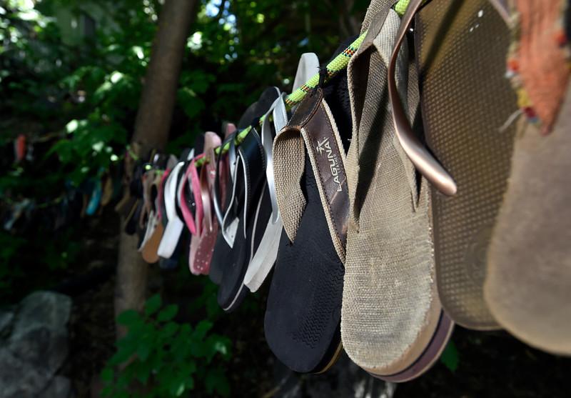 Lost Sandal Art