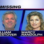 The pair were reported missing along with the aircraft.