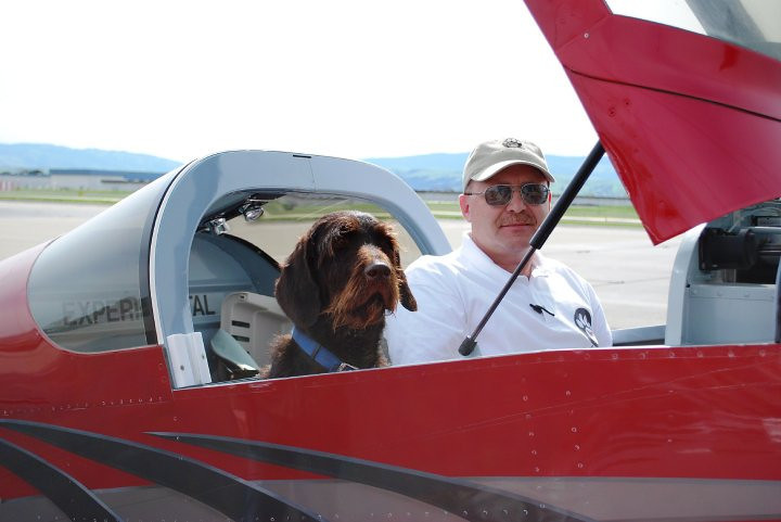 Mr. Radford belonged to the Pilots N Paws Organization which helps transport needy animals in need of medical care.