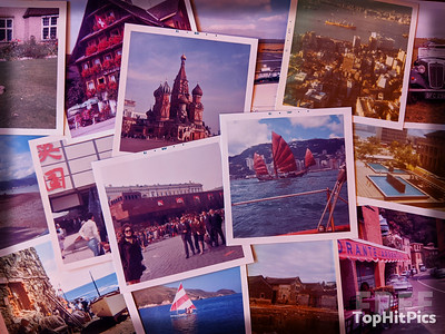 Lost + Found printed images from over the years and around the world