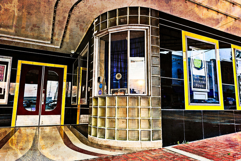ticket booth, Princess Theatre in Decatur, AL