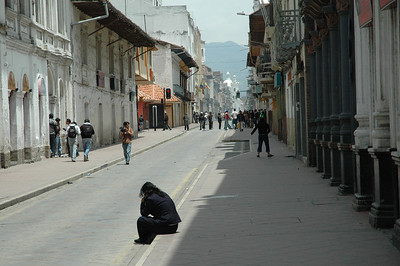 Protest over Canadian gold company in Cuenca